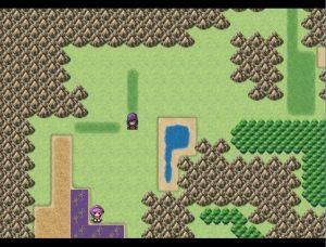 初めの城の西の毒の沼
