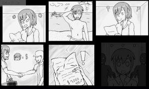 漫画風OP1
