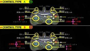 ゲームパッド操作説明