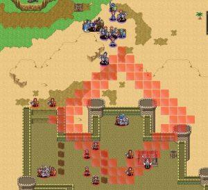 敵城の砲台