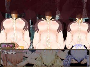 ザコ敗北エロ 裸土下座 3人揃って頭にぶっかけ