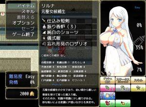R-18版ステータス画面